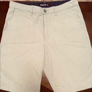 Men's Quicksilver Khaki Shorts - Size 31